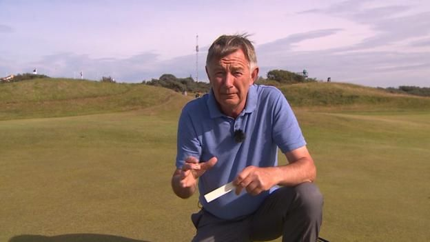 BBC golf expert Ken Brown give us the 'hole' story of why the diameter of the hole is four and a quarter inches wide. Source link...