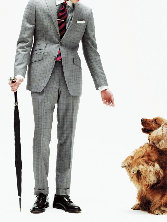 知的なブリティッシュスタイル <20代メンズおすすめスーツ>