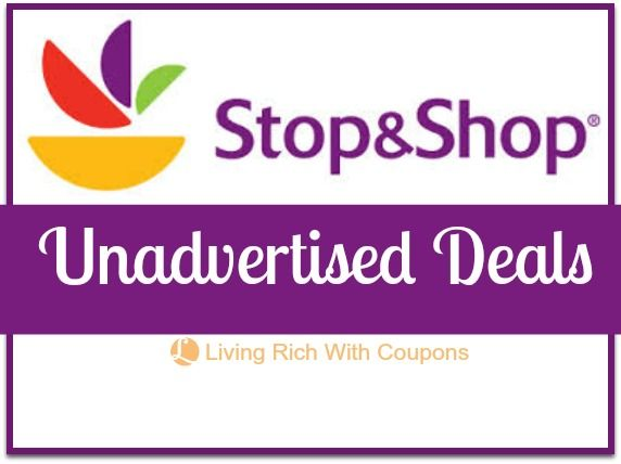 Stop & Shop Coupons for Unadvertised Deals for the week - #coupons and #frugal living blog