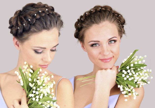 How to Style Milkmaid Braids: This makes them sound so fancy... I wear them to clean floors.