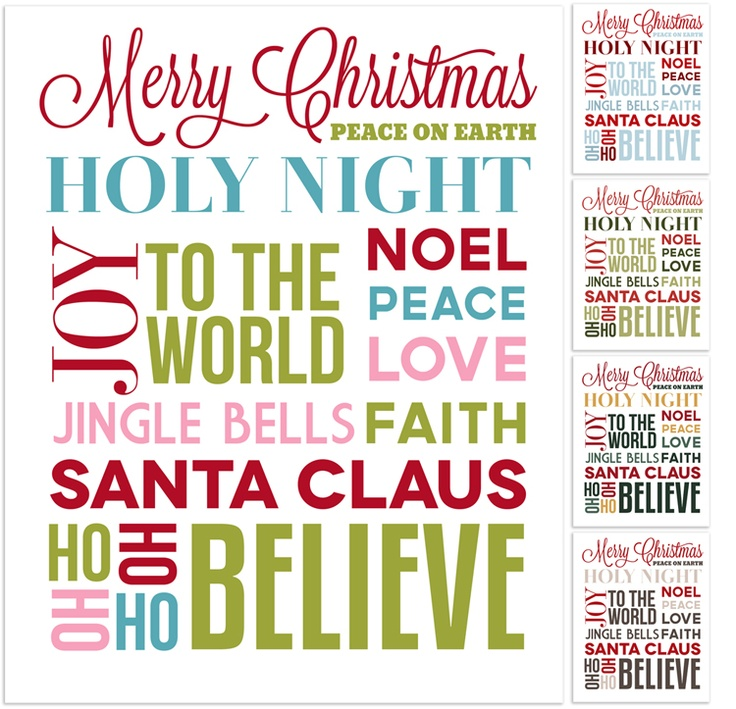 Christmas printables - addi