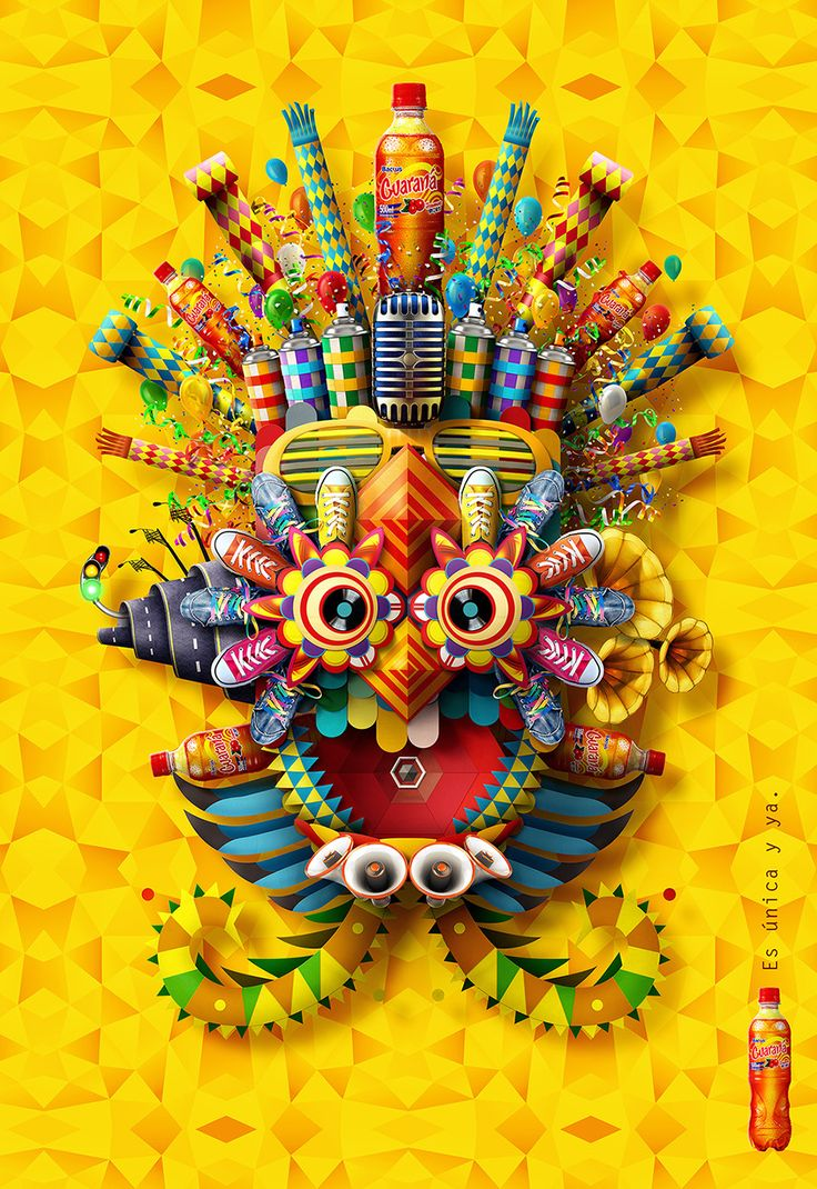 SabMiller needed to spread the word about its soft drink made from guarana, the only one of its kind in the Peruvian market. The graphic art...