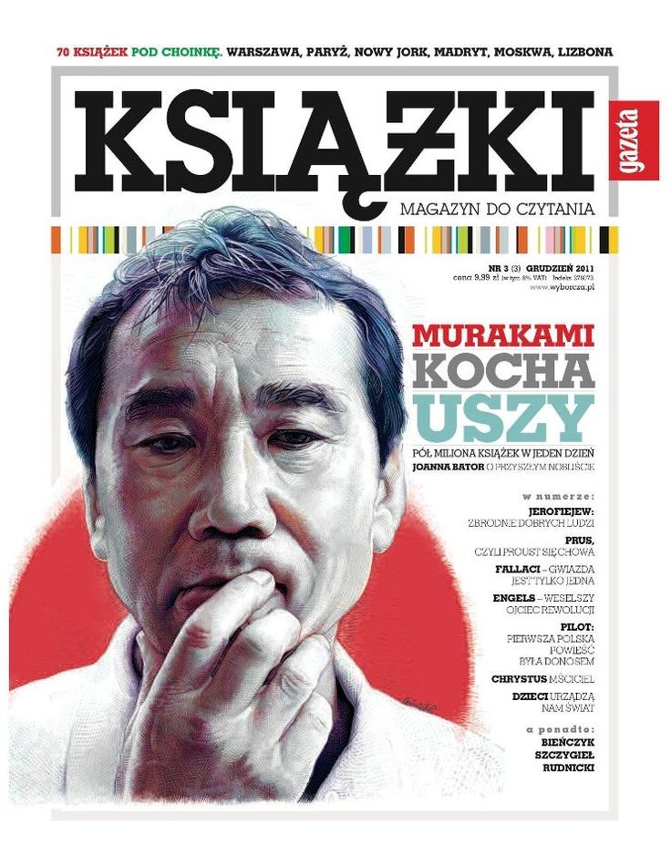 Haruki Murakami Książki. Magazyn do Czytania nr 3
