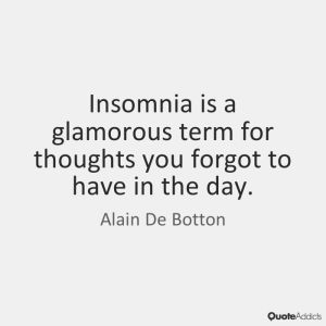 Nice Quotes about Insomnia Images HD
