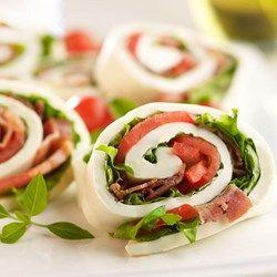 BLT Mozzarella Wrap
