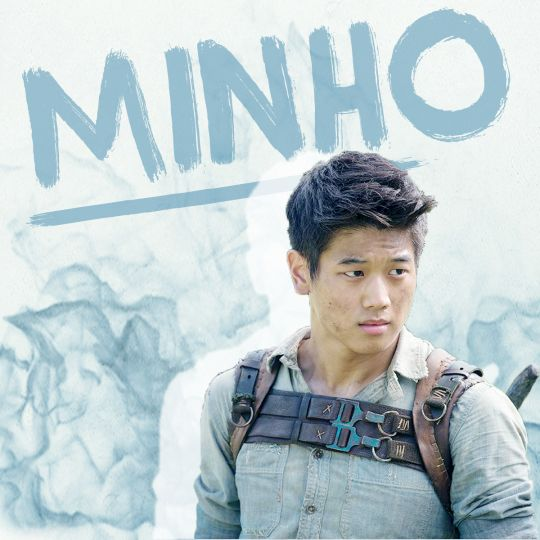 Even though I hate Minho. I mean he's so selfish and cocky and arrogant!!!
