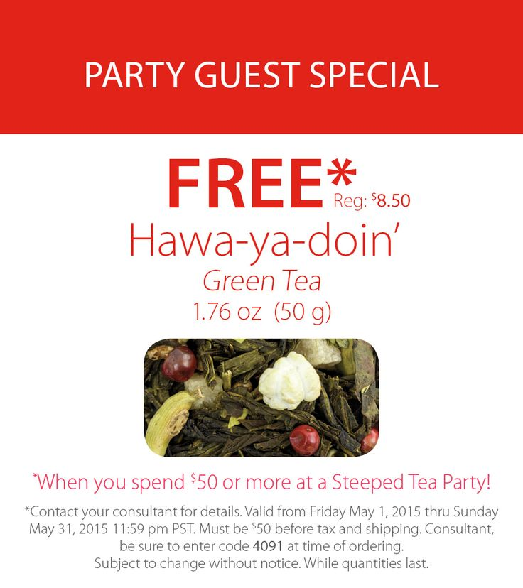 Party Guest Special