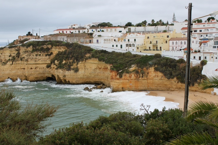 Stormy seas today in #carvoeiro #algarve #beach