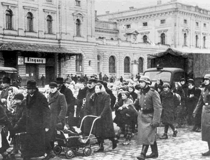13 March 1943 - German forces liquidate the Jewish ghetto in Kraków - So-called Ghetto A was closed down and all remaining Jewish workers imprisoned in the Plaszow concentration camp. Next day the SS troops emptied Ghetto B killing its Jewish inhabitants in their homes and in the streets. Several hundred Jews were trucked to the notorious  Auschwitz death camp in Oswiecim.