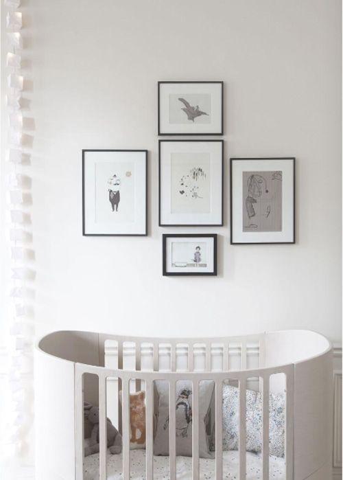 Frames above cot