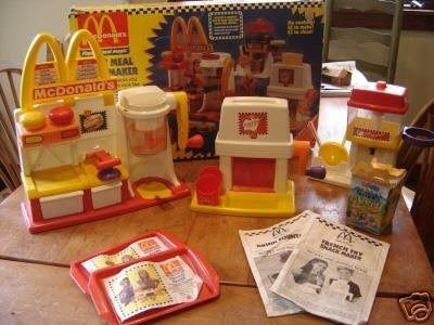 We had the french fry maker, which basically cut a piece of bread into long skinny pieces. Good times!