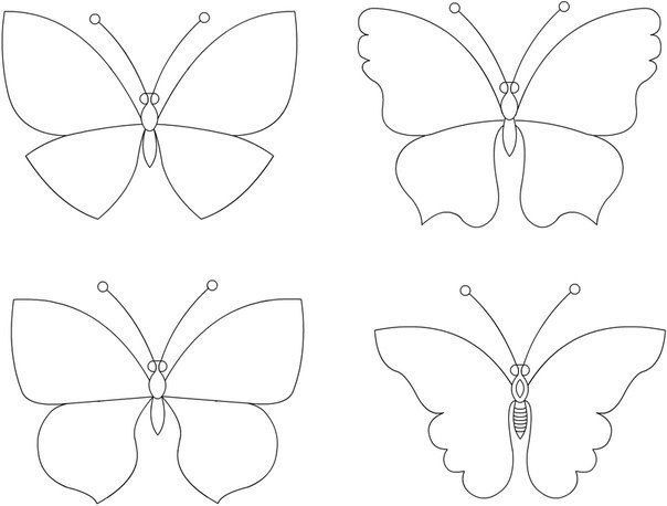 289 Best Butterfly & Dragonfly Patterns/Templates Images On