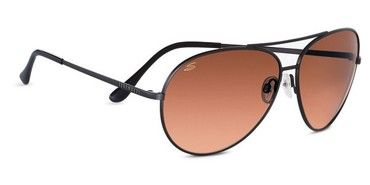 Serengeti Large Aviator Sunglasses - Drivers Gradient