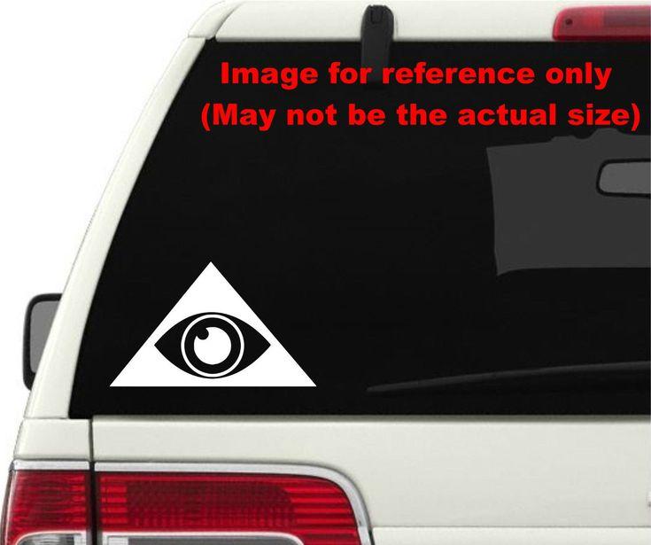 2X Illuminati Sign Logo Pick Color & Size Die Cut Stickers Decals #A1341