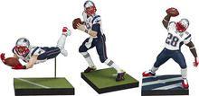 McFarlane NFL New England Patriots Super Bowl LI Pack Brady White Edelman