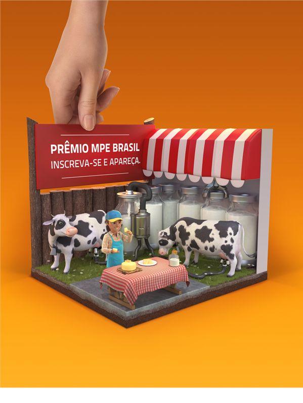 MPE BRASIL | 3D, Manipulação