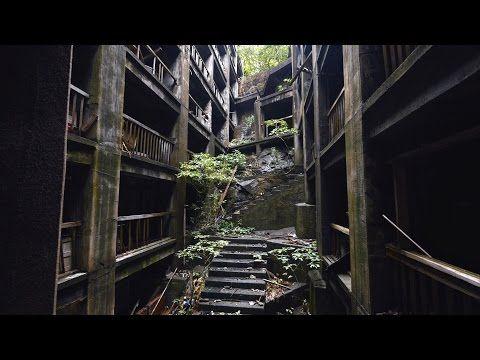 美しい廃墟『軍艦島』ドローンを駆使して撮影された高画質4K映像でその姿を見る – grape -「心」に響く動画メディア