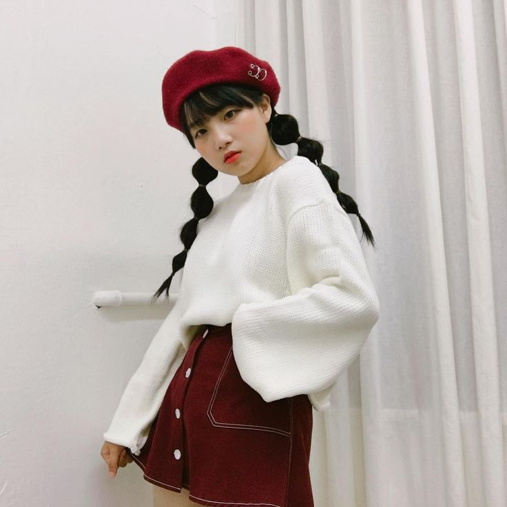 Ring Detailed Wool Beret | mixxmix | Shop Korean fashion casual style clothing, bag, shoes, acc and jewelry for all