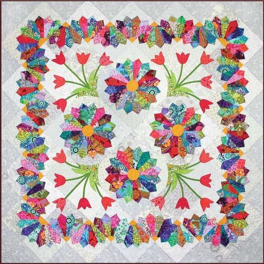 Dresden Quilt Patterns Free : 72 best Dresden Plate images on Pinterest Quilt patterns, Book and Knitting tutorials