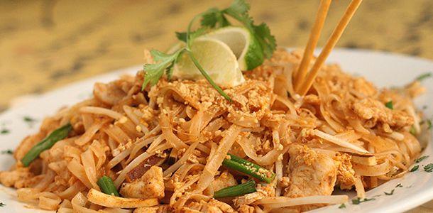 Spicy Chicken Pad Thai:  My Favorite