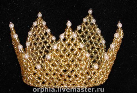 Корона для маленькой принцессы на заказ