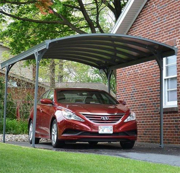 Newest mordern design solar carport with aluminum frame 2