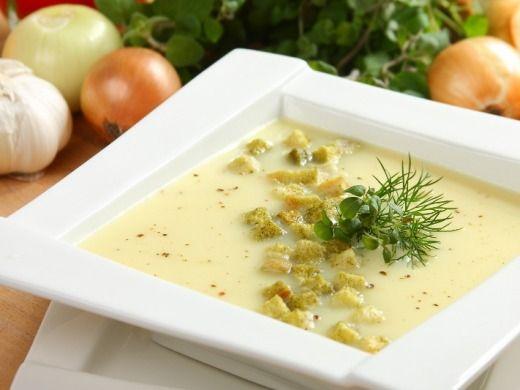 Krémová celerová polévka - Recepty na každý den