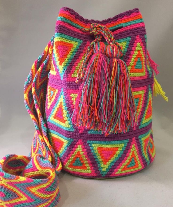 NEW Mochilas online! We have several more to go, so thanks for being patient! With love from Colombia❤️ purchased fair-trade to help support the tribes women of Northern Colombia. ✨✨✨ #mochila #mochilabags #wayuu #handmade #boho #bohemianstyle #bohochic #colombian #fairtrade #artisan #worldlygoods #yogastyle #boho #hippie #hippiechic #worldlygoods #fairtrade #ayudaguajira