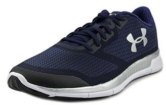 Under Armour Charged Lightning Men Us 11.5 Blue Running Shoe.