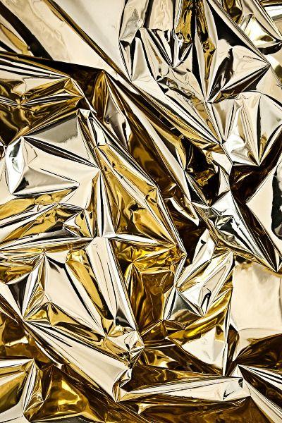 A Golden Youth - Jves via Cargo Collective - gold foil photograph