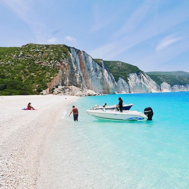 Fteri beach, Kefalonia island, Greece