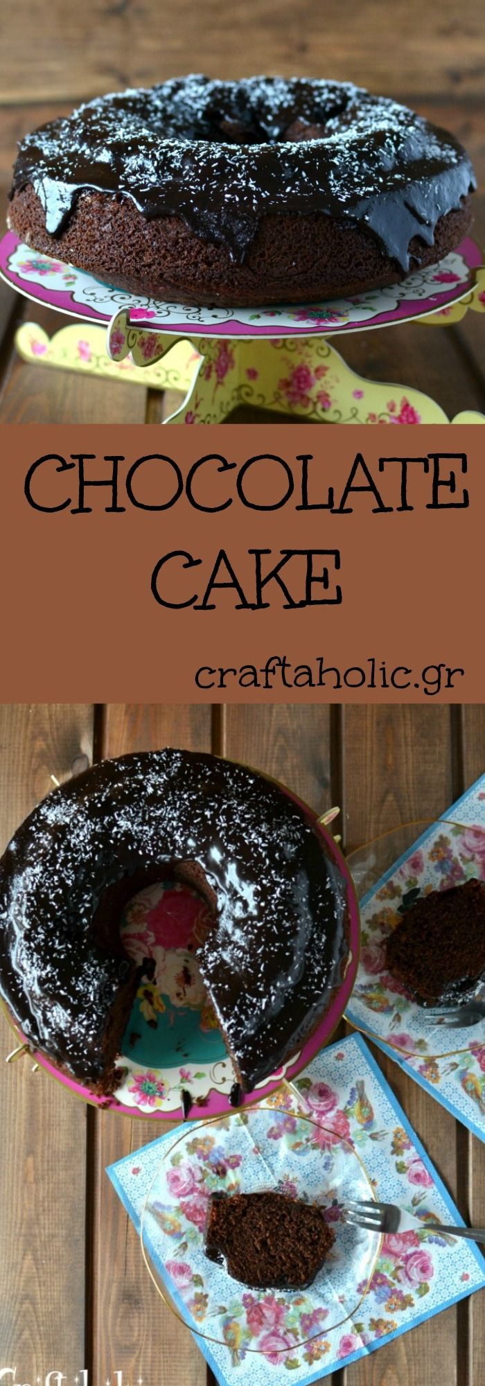 My mom's recipe for the best chocolate cake ever!