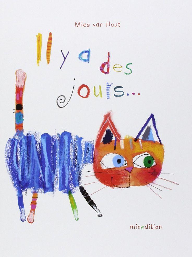 """""""Il y a des jours..."""" est un livre qui aide les enfants àcomprendre et apprendre les expressions familières autour des émotions."""