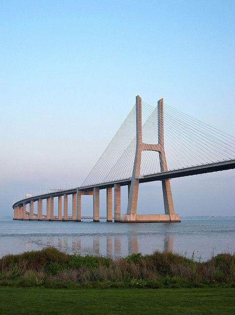 Puente de Vasco da Gama - Lisboa, Portugal