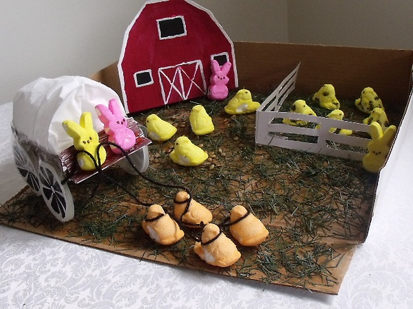 80 Best LOOK The Peeps Diorama Images On Pinterest Dioramas