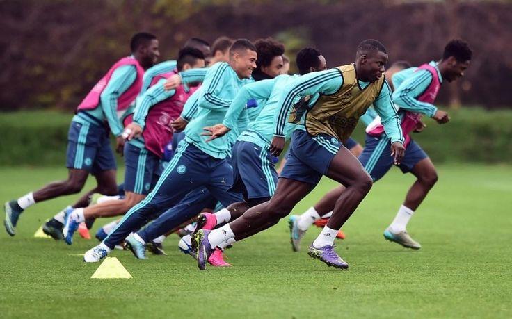 Chelsea training #sport #football #training #chelsea #chelsea fc