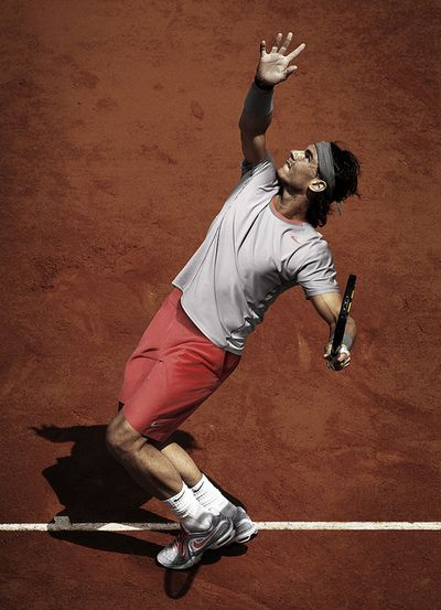 Rafael Nadal #RolandGarros #tenis #tennis #nike @JugamosTenis