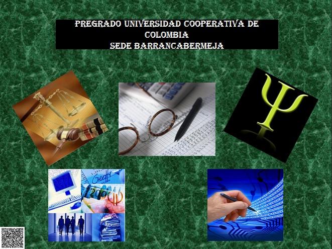 DERECHO, CONTADURIA PUBLICA, PSICOLOGIA, ADMINISTRACION DE EMPRESAS Y INGENIERIA DE SISTEMAS