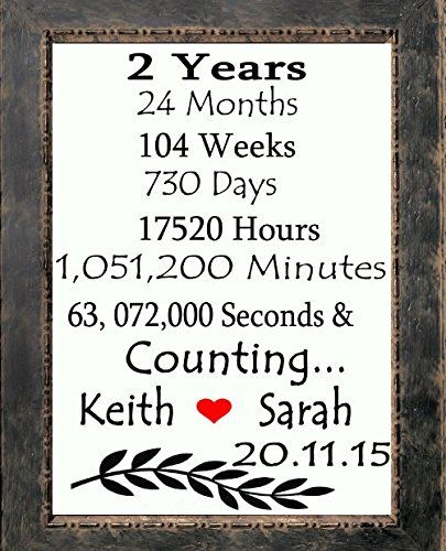 20 Year Wedding Anniversary Gifts For Her: 25+ Best Ideas About 2 Year Anniversary On Pinterest