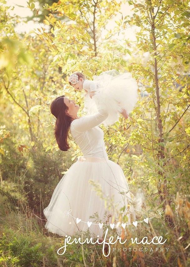 Lovely Mommy & Daughter Idea