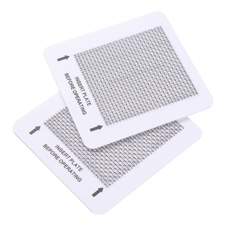 2PCS Washable Ceramic Purification Plates Ozone Air Purifier