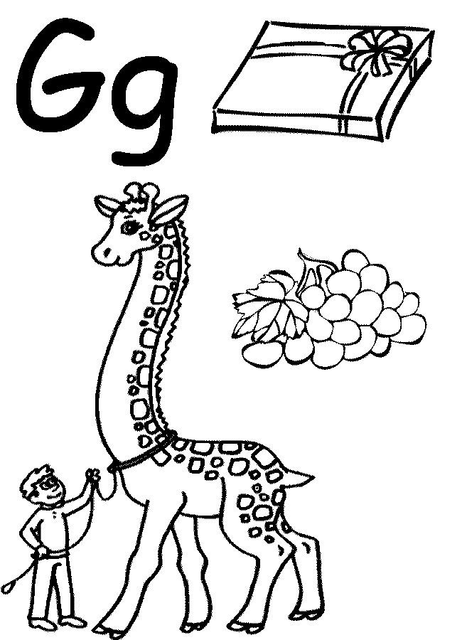 preschool coloring pages of abc - photo#19