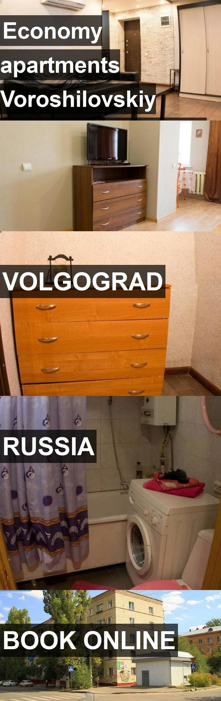 Economy apartments Voroshilovskiy District - Volgograd in Volgograd, Russia. For more information, photos, reviews and best prices please follow the link. #Russia #Volgograd #travel #vacation #apartment