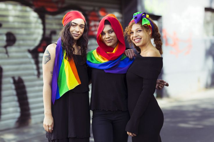 This Muslim Fashion Designer Has Created A Head Scarf In Support Of Marriage Equality
