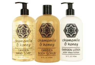 Gardeners Hand Soap, Lotions and Body Scrub Set