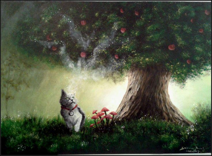 """""""Newton"""" Acrylics on canvas, 70x50 cm For SALE!"""