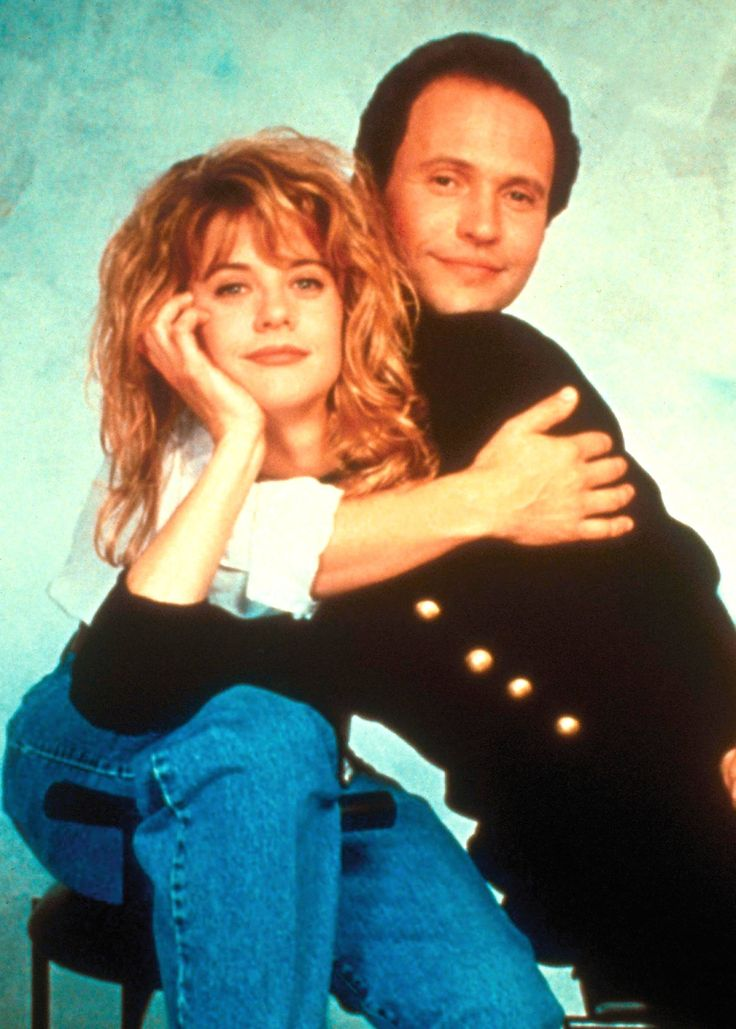 Meg Ryan and Billy Cristal for When Harry Met Sally...directed by Rob Reiner, 1989