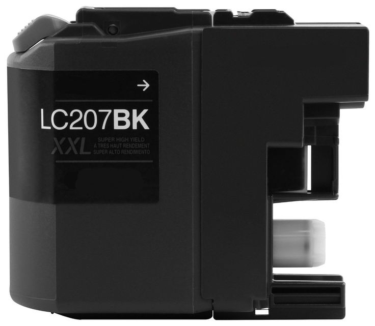 Buy LC-207 (LC207BK) Super HY Black Ink Cartridge for Brother at Houseoftoners.com. We offer to save 30-70% on ink and toner cartridges. 100% Satisfaction Guarantee.