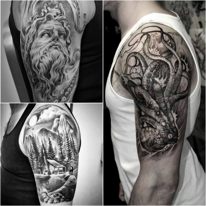 Sleeve Tattoos For Men Best Sleeve Tattoo Ideas And Designs Sleeve Tattoos Tattoo Sleeve Men Mens Shoulder Tattoo