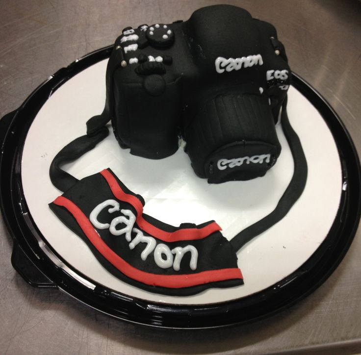 Canon Camera Cake My Cake Designs Pinterest Camera